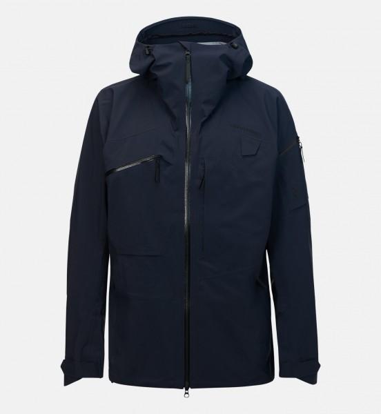 PEAK PERFORMANCE - ALPINE ski jas - donker blauw