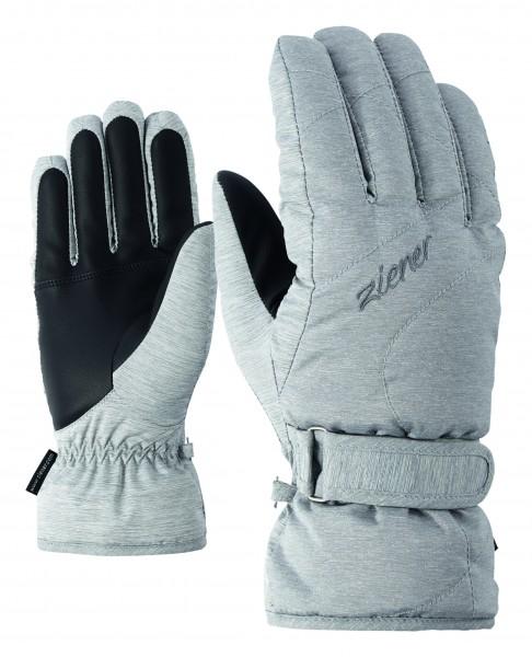 ZIENER - KADDY handschoen - grijs