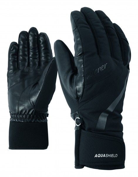 ZIENER - KITTY AS (R) handschoenen - zwart