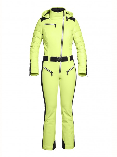 FLAME jumpsuit soft neon yellow