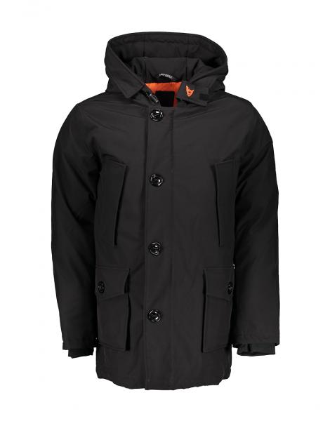 AIRFORCE - SOFTSHELL TECHNICAL 4 jas - zwart, black, Haarlem, winterjas