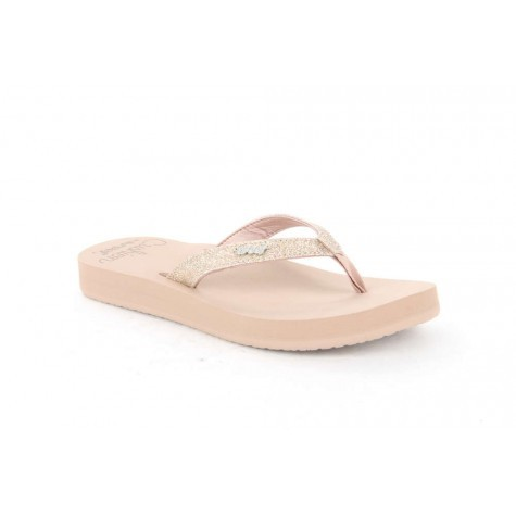 REEF - STAR CUSHION slippers - roze
