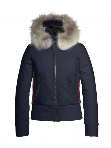 ALTEZZA fur jacket dark navy