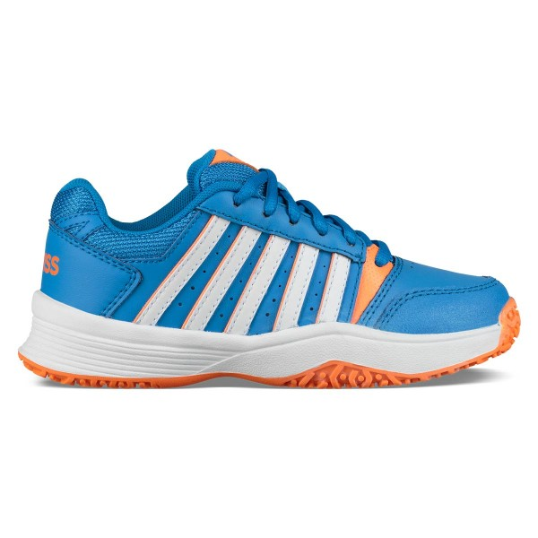 bb82b29cf5e K-SWISS - COURT SMASH OMNI JUNIOR schoenen - blauw