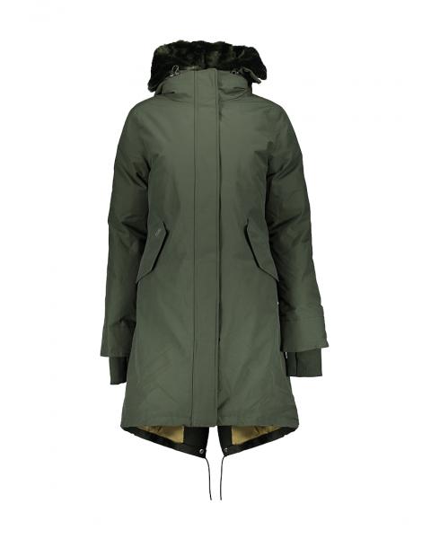 f77a2104195 AIRFORCE - LUXURY FISHTAIL DOUBLE jas - groen | Sport 'n Styles
